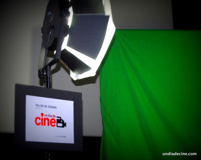 un día de cine - taller de croma